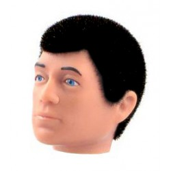 reissue head black hair