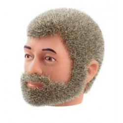 reissue head DARK blond Fuzzy with beard