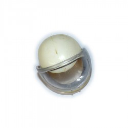 White space helmet (vintage)