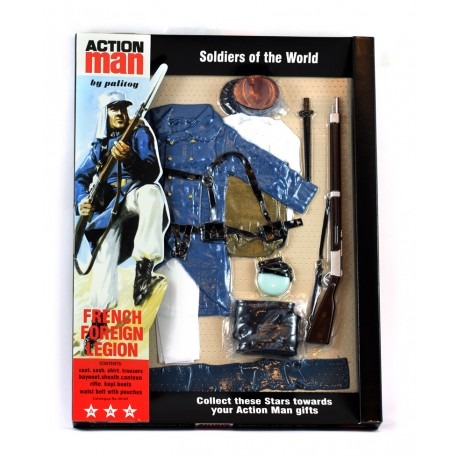 New French foreign legion 40th Action man