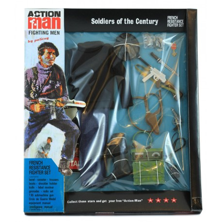 New French resistance fighter 40th Action man