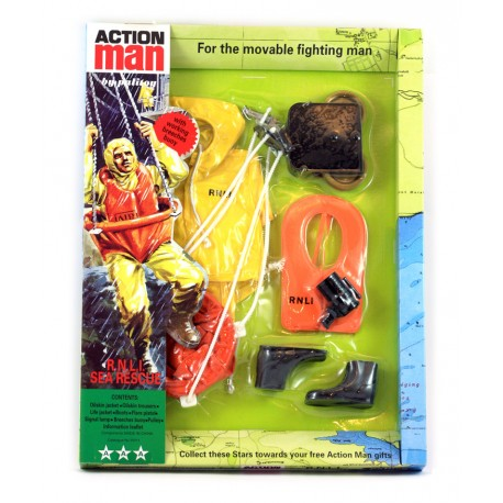 New R.N.L.I. Sea Rescue 40th Action man