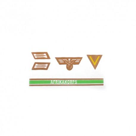 New Afrika Korps patches set