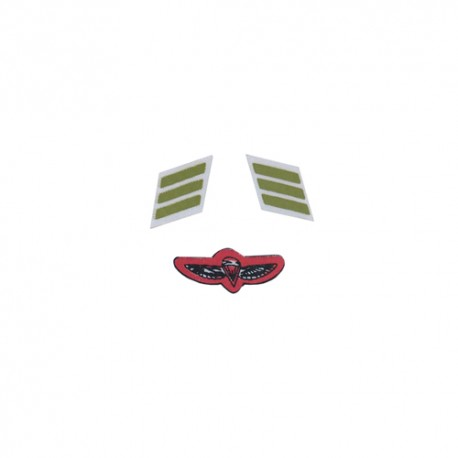 New Israeli paratrooper patches set