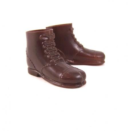 Brown short shoes