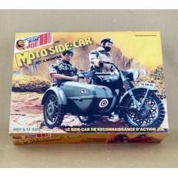 Moto Side-car Action Joe en boîte avec notice vintage