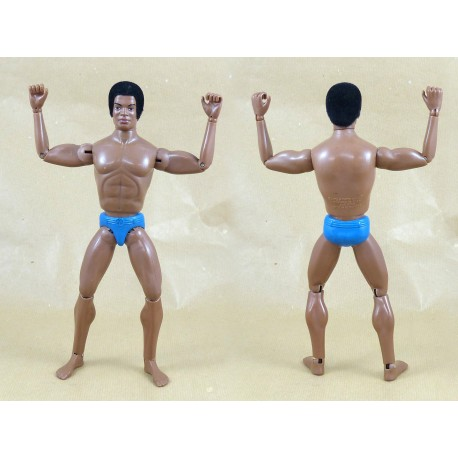 Vintage Sam Tom Stone Action Joe nude black figure