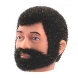 Tête de Joe repro barbu brun