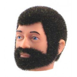 reissue head Brown Fuzzy with Beard