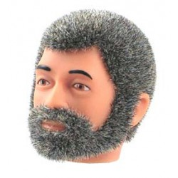 reissue head grey Fuzzy with Beard