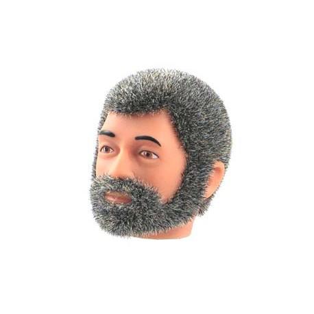 reissue head grey Fuzzy with Beard
