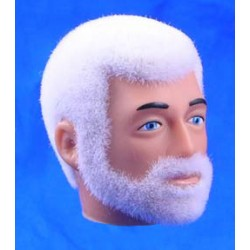 reissue head white Fuzzy with Beard