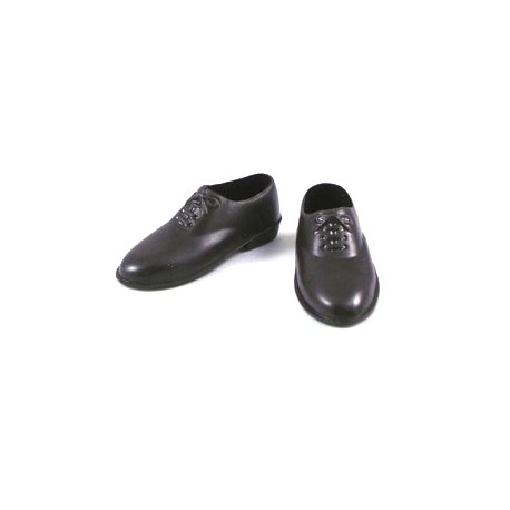 Brown shoes for officer outfit