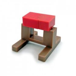 Karate brick and stand