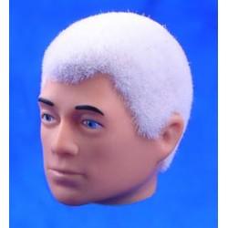 Tête repro cheveux blanc