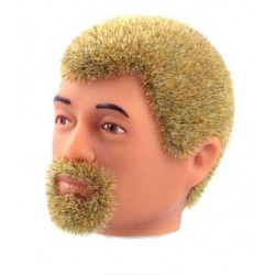 reissue head blond Fuzzy with goatee