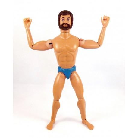 Figurine Action Joe barbu brun