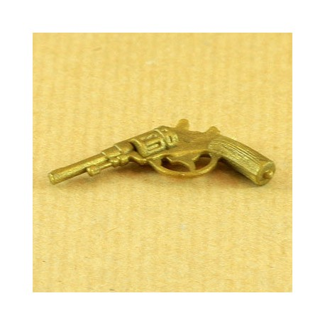 Pistolet Lebel doré