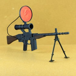 infrared machine gun