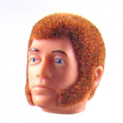 reissue head red Fuzzy with sideburns
