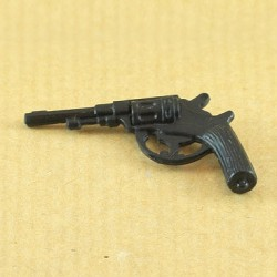Pistolet Lebel noir Action Joe l'aventurier