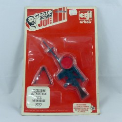 "Carded ""FUSIL INFRAROUGE"" Action Joe"