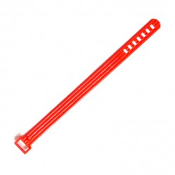 Red plastic belt