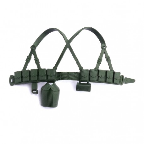 GROUP ACTION JOE BERET VERT - WEBBING