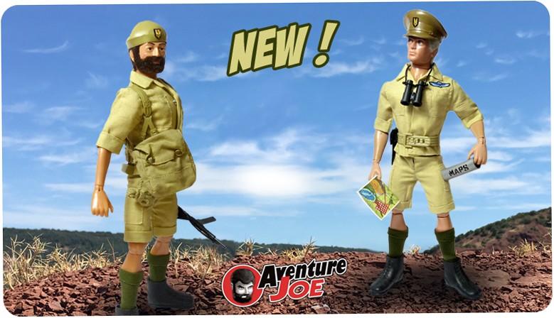 Aventure Joe SAS outfits!