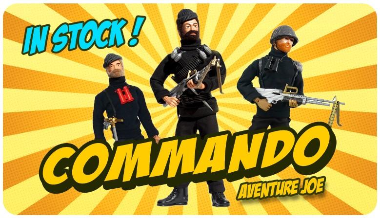 New! Aventure Joe French Commandos!
