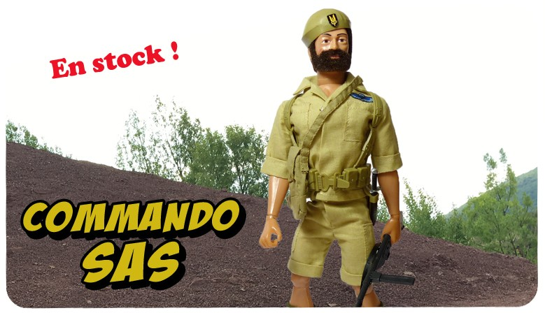 Commando SAS in stock !
