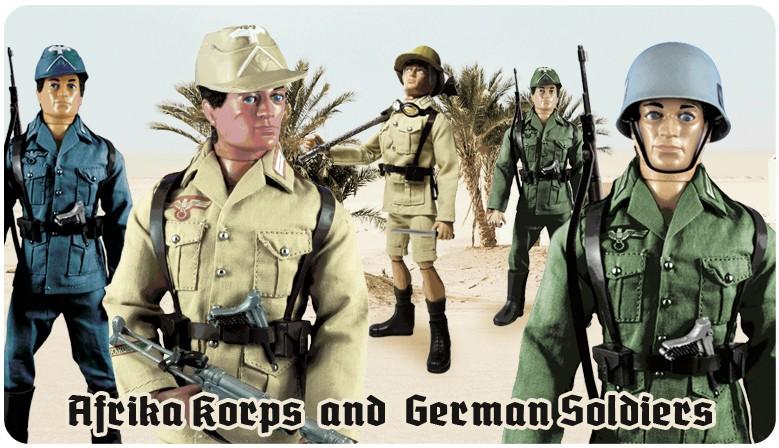 Afrika Korps  and  German Soldiers