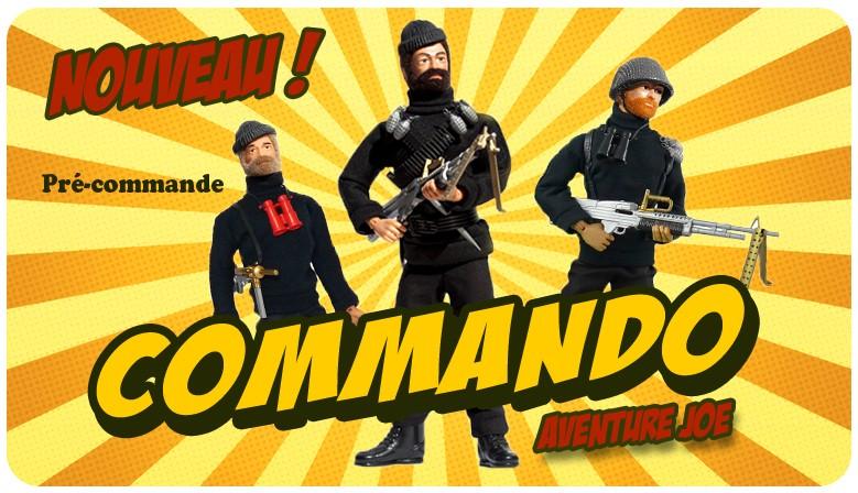 Nouveauté : les Commandos Aventure Joe !