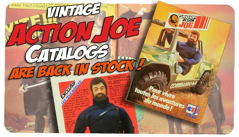 vintage Group Action Joe Catalogs!