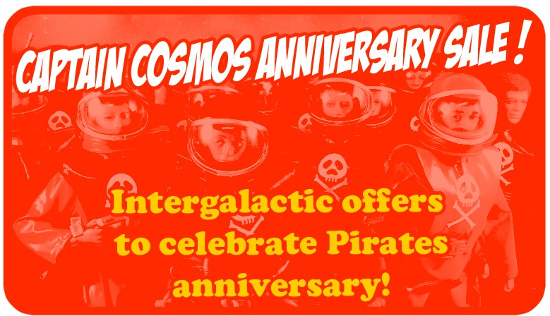 Intergalactic offers to celebrate Pirates anniversary!